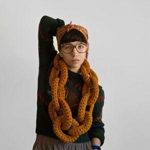 Dookie Wool Chain Link Scarf